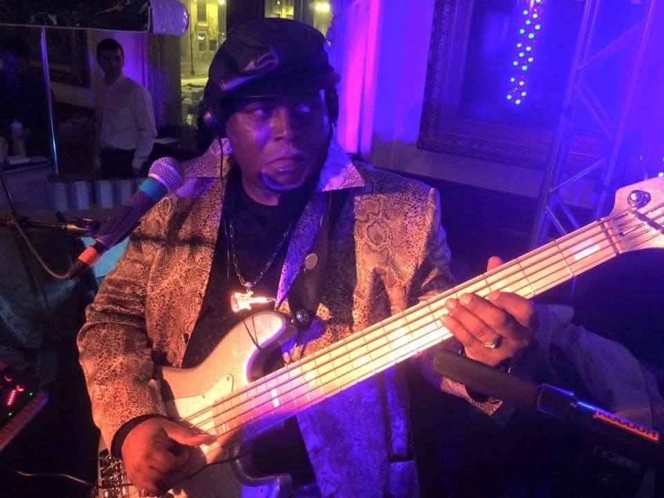 """ANTHONY """"DOWNTOWN TONY"""" BROWN - Bass & Vocals"""